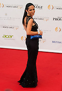 Fabienne Carat arrives at the opening ceremony of the 54th Monte-Carlo Television Festival on June 7, 2014 in Monte-Carlo, Monaco.tival
