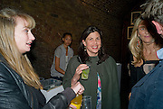CLEMMIE FRASER; KIRSTY ALLSOP, Favela Descending. Gerry Fox.  Part of Concrete and Glass. Village Underground. Hollywell Lane.  London. 2 October 2008 *** Local Caption *** -DO NOT ARCHIVE-© Copyright Photograph by Dafydd Jones. 248 Clapham Rd. London SW9 0PZ. Tel 0207 820 0771. www.dafjones.com.