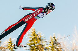 Katharina Keil of Austria competes during 11th Women FIS Ski Jumping World Cup competition in Planica replacing Ljubno  on January 25, 2014 at HS95, Planica, Slovenia. Photo by Vid Ponikvar / Sportida