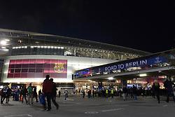 A general view outside the Camp Nou - Photo mandatory by-line: Dougie Allward/JMP - Mobile: 07966 386802 - 18/03/2015 - SPORT - Football - Barcelona - Nou Camp - Barcelona v Manchester City - UEFA Champions League - Round 16 - Second Leg