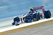Jean Eric Vergne (FRA) drives the Scuderia Toro Rosso STR7  Formula One Testing, Circuit de Catalunya, Barcelona, Spain, World Copyright: Jamey Price