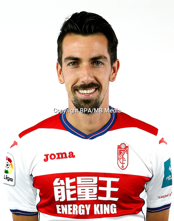 Spain - La Liga Santander 2016-2017 / <br /> ( Granada C.F. ) - <br /> Joan Isaac Cuenca Lopez &quot; Isaac Cuenca &quot;