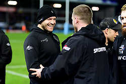 Julian Salvi after the final whistle of the match - Mandatory by-line: Ryan Hiscott/JMP - 29/12/2019 - RUGBY - Sandy Park - Exeter, England - Exeter Chiefs v Saracens - Gallagher Premiership Rugby