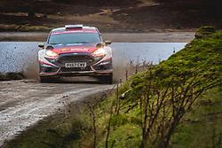 October 5, 2018 - Grande Bretagne - Gus Greensmith (GBR) - Craig Parry (GBR) - Ford Fiesta R5 - WRC2 (Credit Image: © Panoramic via ZUMA Press)