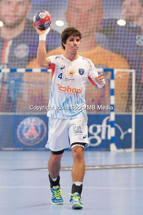 Diego Simonet - 03.12.2014 - PSG / Montpellier - 12eme journee de D1<br />Photo : Andre Ferreira / Icon Sport