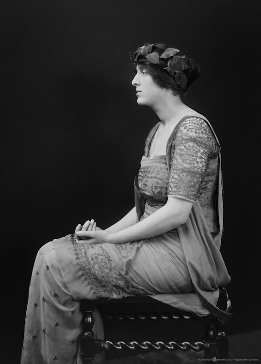 Vita Sackville-West, English Poet and Author, 1924