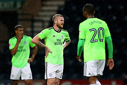 Cardiff players look dejected after conceding the opening goal - Mandatory by-line: Matt McNulty/JMP - 12/09/2017 - FOOTBALL - Deepdale Stadium - Preston, England - Preston North End v Cardiff City - SkyBet Championship