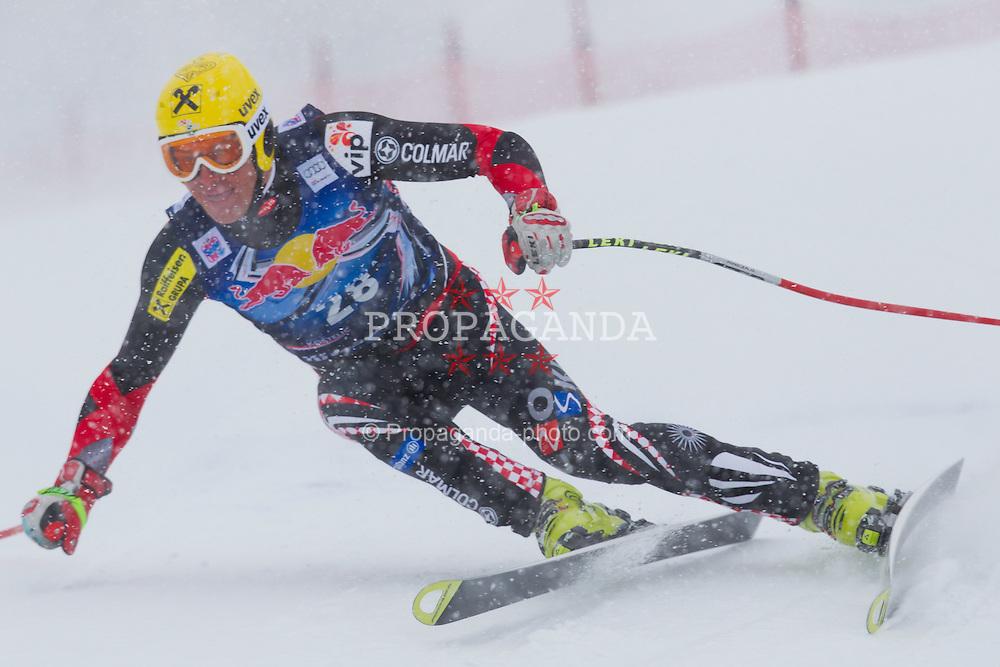 21.01.2012, Hahnenkamm, Kitzbuehel, AUT, FIS Weltcup Ski Alpin, 72. Hahnenkammrennen, Herren, Abfahrt, im Bild Ivica Kostelic (CRO) // Ivica Kostelic of Croatia during Downhill race of 72th Hahnenkammrace of FIS Ski Alpine World Cup at 'Streif' course in Kitzbuhel, Austria on 2012/01/21. EXPA Pictures © 2012, PhotoCredit: EXPA/ Johann Groder