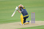Liam Dawson of Hampshire batting during the Royal London One Day Cup match between Hampshire County Cricket Club and Middlesex County Cricket Club at the Ageas Bowl, Southampton, United Kingdom on 23 April 2019.