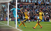 Football - 2016 / 2017 Premier League - Burnley v Arsenal at Turf Moor<br /> <br /> Alex Oxlade-Chamberlain of Arsenal scoring the winning goal <br /> <br /> <br /> COLORSPORT/LYNNE CAMERON