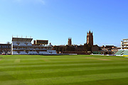 The Cooper Associates County Ground stadium during the Somerset County Cricket Club PhotoCall 2017 at the Cooper Associates County Ground, Taunton, United Kingdom on 5 April 2017. Photo by Graham Hunt.