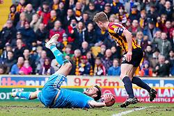 Sunderland's Steven Fletcher appeals for a penalty l - Photo mandatory by-line: Matt McNulty/JMP - Mobile: 07966 386802 - 15/02/2015 - SPORT - Football - Bradford - Valley Parade - Bradford City v Sunderland - FA Cup - Fifth Round