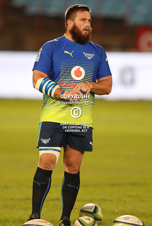 Martin Dreyer of the Vodacom Bulls during the Super Rugby match between the Vodacom Bulls and the Jaguares at Loftus Versfeld, Pretoria,South Africa April 15th 2017 Photo by (Steve Haag)