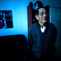 BEIJING, JANUARY-24, 2009: Former senior Chinese official Bao Tong ,who spent seven years in prison for sympathizing with democracy advocates, in his apartment in Beijing.