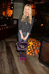 LAURA WHITMORE at a party to celebrate the opening of 100 Wardour Street, Soho, London on 28th January 2016.