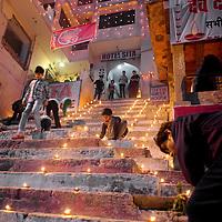 The ghats of Varanasi during Dev Deewapali