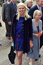 Anneka Rice  beim Gedenkgottesdienst f¸r Terry Wogan im Westminster Abbey in London / 270916<br /> <br /> ***Memorial service for Terry Wogan at Westminster in London, September 27th, 2016***