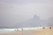Ipanema Beach, Rio de Janiero, Brazil.