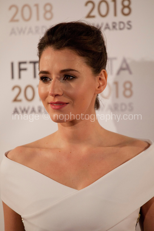 Charlie Murphy at the IFTA Film & Drama Awards (The Irish Film & Television Academy) at the Mansion House in Dublin, Ireland, Thursday 15th February 2018. Photographer: Doreen Kennedy