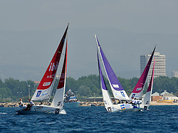 Radich, Iehl and Gilmour in the quarter finals. Photo: Chris Davies/WMRT