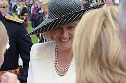 © licensed to London News Pictures.  Edinburgh, UK, 25/06/2011. Camilla, Duchess of Cornwall - Duchess of Rothesay in Scotland - chats to onlookers after the Armed Forces Day parade. Please see special instructions for usage rates. Photo credit should read Ken Jack/LNP