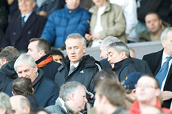 MANCHESTER, ENGLAND - Sunday, March 23, 2008: Liverpool's Chief-Executive Rick Parry during the Premiership match at Old Trafford. (Photo by David Rawcliffe/Propaganda)