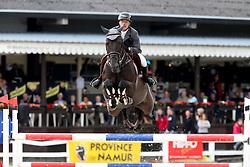 Goffinet Thierry, BEL, Kannabis Van De Bucxtale<br /> Belgisch Kampioenschap Jonge Spring Paarden - Gesves 2017<br /> © Hippo Foto - Julien Counet<br /> 15/08/17