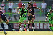 Dayle Grubb of Forest Green Rovers in action during the EFL Sky Bet League 2 match between Forest Green Rovers and Stevenage at the New Lawn, Forest Green, United Kingdom on 21 September 2019.