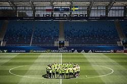 June 18, 2017 - Stockholm, Sweden - U21-EM 2017 i Polen. Svenska landslaget tränar. träning action landslaget (Credit Image: © Aftonbladet/IBL via ZUMA Wire)