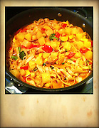 sauted vegatables in pan with noodles cellphone photography,Iphone pictures,smartphone pictures
