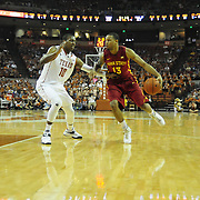 Feb 21, 2015: The University of Texas at Austin vs. Iowa State University Frank Erwin Center, Austin, Texas.