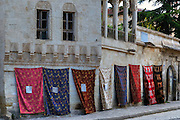 Turkish carpet shop in Mustafapasa, Cappadocia, Anatolia, Turkey