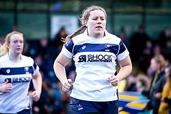 Naomi Keddie of Bristol Bears Women - Mandatory by-line: Robbie Stephenson/JMP - 01/12/2019 - RUGBY - Sixways Stadium - Worcester, England - Worcester Warriors Women v Bristol Bears Women - Tyrrells Premier 15s