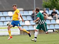 FODBOLD: Chris Lorentzen (Ølstykke FC) under kampen i Serie 1 mellem Ølstykke FC og Brede IF den 3. juni 2017 på Ølstykke Stadion. Foto: Claus Birch