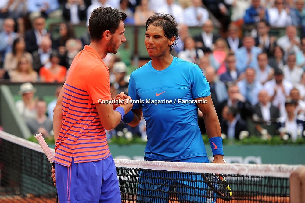 Rafael Nadal (ESP)<br /> Quentin Halys (FRA)