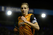 Hull City defender Michael Dawson 1-0 during the Sky Bet Championship match between Birmingham City and Hull City at St Andrews, Birmingham, England on 3 March 2016. Photo by Alan Franklin.