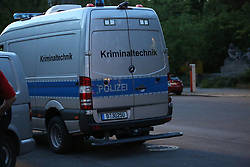 June 1, 2017 - Berlin, Berlin Tempelhof, Germany - In the park at the Bäumerplan in Berlin-Tempelhof, strollers discovered a hurt man. The emergency doctor could no longer help the man. He died shortly thereafter. An autopsy should clarify what the man died, according to a spokesman for the police. (Credit Image: © Simone Kuhlmey/Pacific Press via ZUMA Wire)