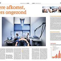 Het Parool, 6 april 2013: groot Amsterdam gezondheidsonderzoek