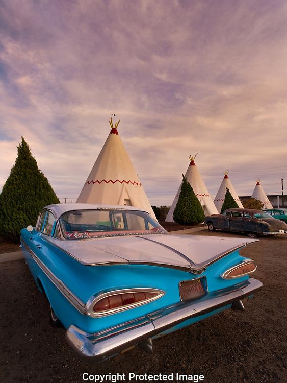 Route 66, Wig Wam Motel, Holbrook, AZ