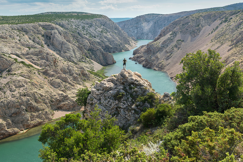 Europe, Balkan, Croatia, Starigrad, Zrmanja Canyon, film location for Ger,an Winnetou movies
