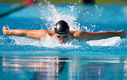 Jan Karel Petric of Slovenia during the Men's  400m Individual Medley Heats during the 13th FINA World Championships Roma 2009, on August 2, 2009, at the Stadio del Nuoto,  in Foro Italico, Rome, Italy. (Photo by Vid Ponikvar / Sportida)