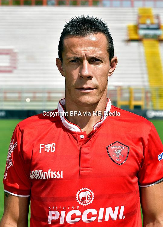 Italian League Serie B_2015-2016 / <br /> ( AC Perugia 1905 ) - <br /> Rodrigo Taddei