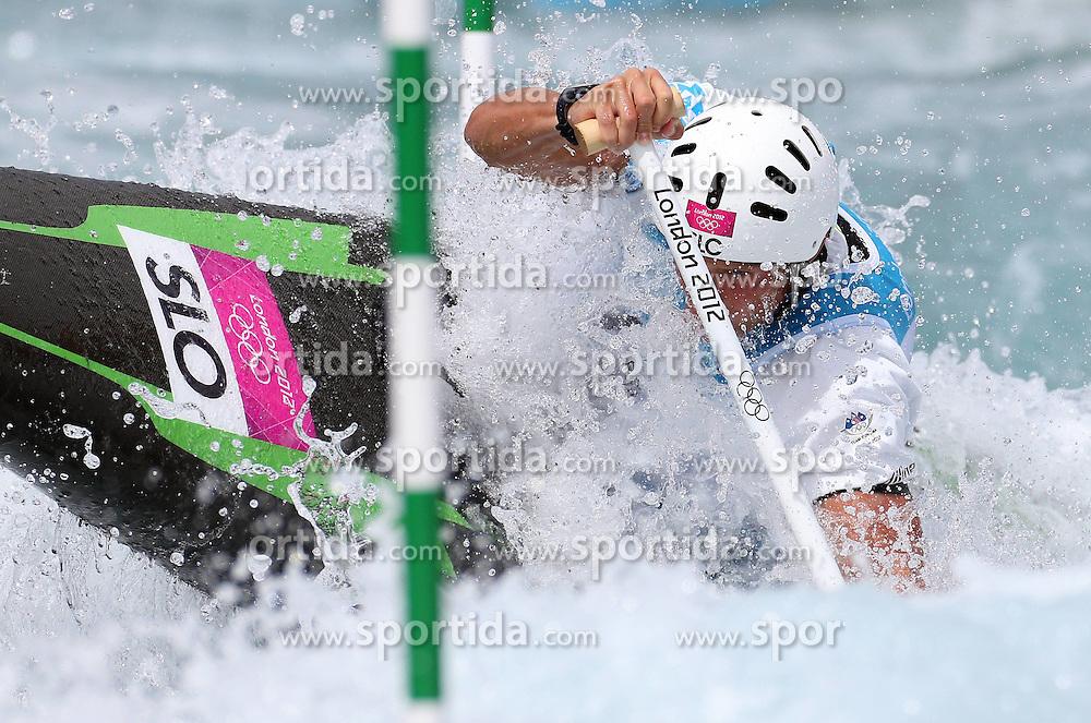 31-07-2012 London 2012 Olympic games. Benjamin Savsek of Slovenia..©2012 Sportida / FotoHoogendoorn.nl / Igor Kralj..