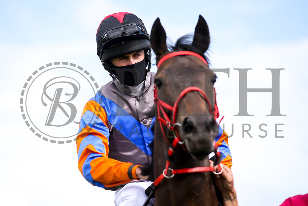 Coronation Cottage ridden by Charlie Bennett and trained by Malcolm Saunders - Mandatory by-line: Robbie Stephenson/JMP - 18/07/2020 - HORSE RACING- Bath Racecourse - Bath, England - Bath Races 18/07/20
