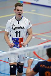 20181027 NED: Eredivisie, SV Land Taurus - Achterhoek Orion: Houten<br />Jordi van Andel (11) of Achterhoek Orion<br />©2018-FotoHoogendoorn.nl / Pim Waslander