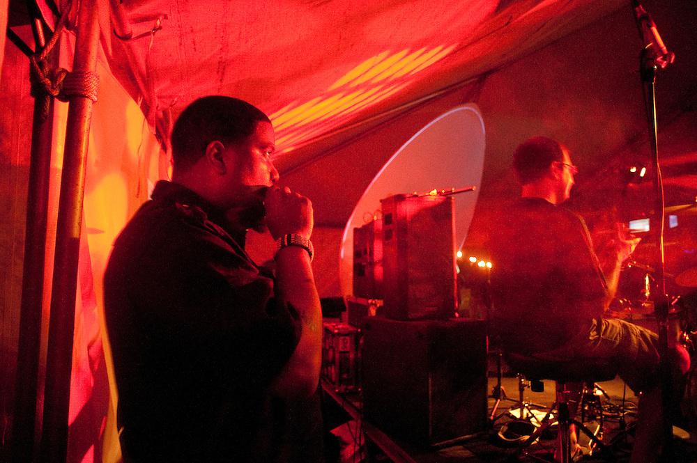 Asheru, between songs, main stage Saturday night.