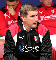 Rotherham United manager Alan Stubbs  - Mandatory by-line: Matt McNulty/JMP - 10/09/2016 - FOOTBALL - Aesseal New York Stadium - Rotherham, England - Rotherham United v Bristol City - Sky Bet Championship