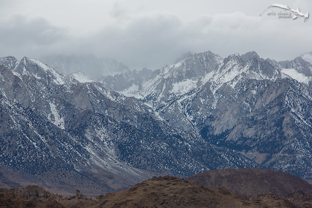 The Sierra Nevada from Lone Pine, California