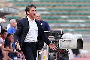 Foto di Donato Fasano - LaPresse.15  05  2011  Bari ( Italia ).Sport Calcio.AS Bari -  Us Lecce   TIM Serie A 2010  2011 - Stadio San Nicola Bari.Nella foto: de canio.Photo Donato Fasano - LaPresse.15  05  2011 Bari ( Italy ).Sport Soccer.AS Bari  - Us Lecce Serie  A Soccer League 2010 2011- San Nicola Stadium Bari.In the Photo: de canio