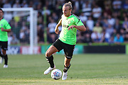 Forest Green Rovers Joseph Mills(23) runs forward during the Pre-Season Friendly match between Forest Green Rovers and Leeds United at the New Lawn, Forest Green, United Kingdom on 17 July 2018. Picture by Shane Healey.